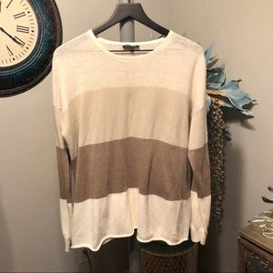 Lafayette 148 New York color blocked sweater
